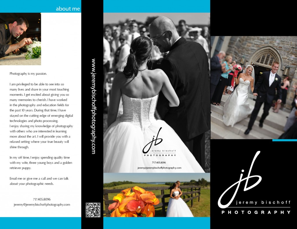 2011 Brochure by Jeremy Bischoff Photography Lancaster PA Wedding Photographer