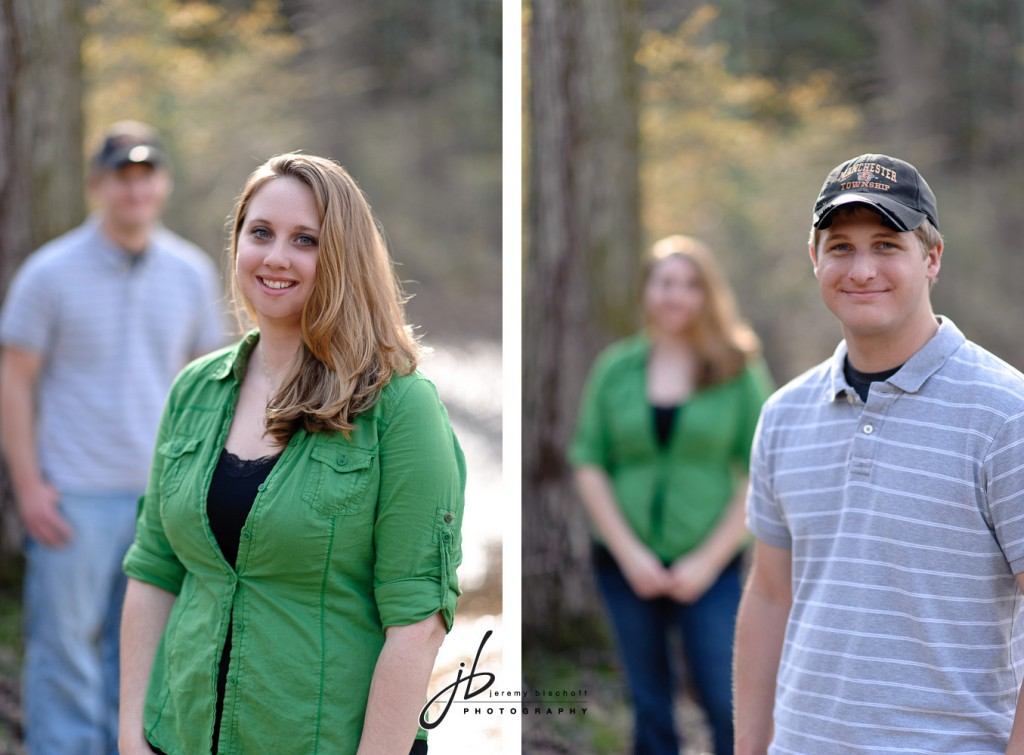Gifford Pinchot State Park engagement session by Jeremy Bischoff Photography