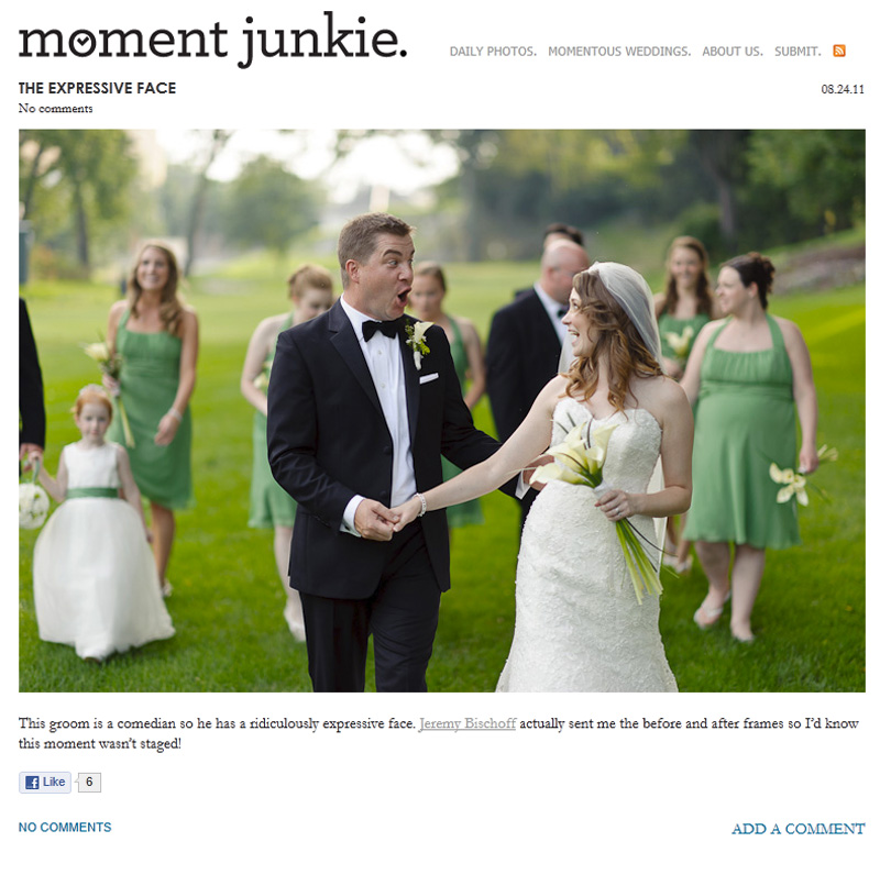 Jeremy Bischoff Photography featured on Moment Junkie