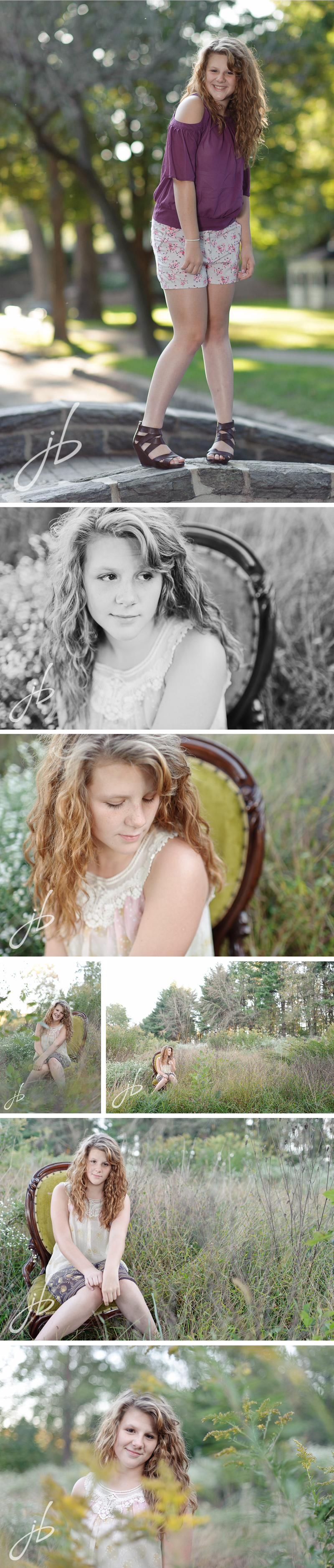 Lancaster PA Senior portrait photography by Jeremy Bischoff Photography