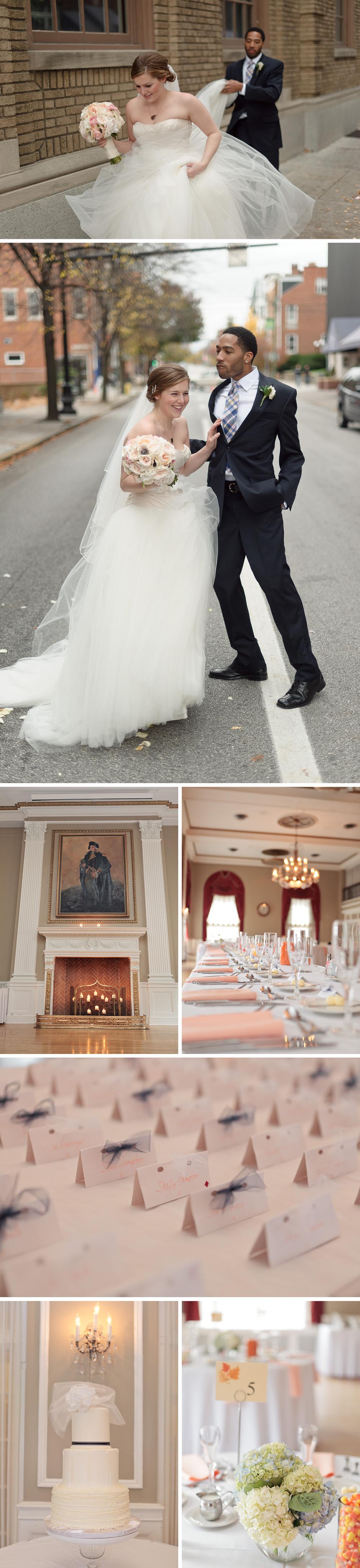 Yorktowne Hotel Wedding photography