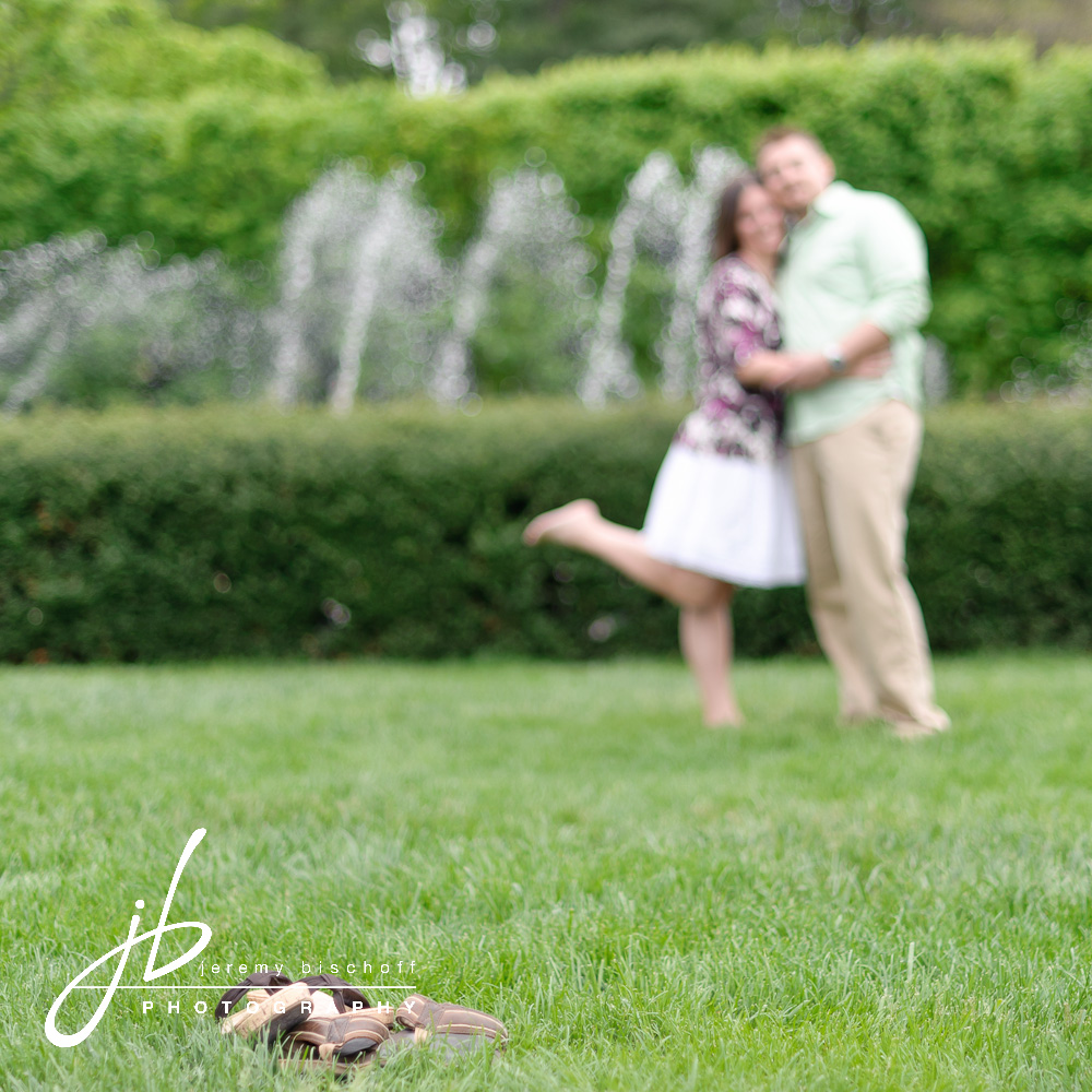Longwood Gardens engagement by Jeremy Bischoff Photography