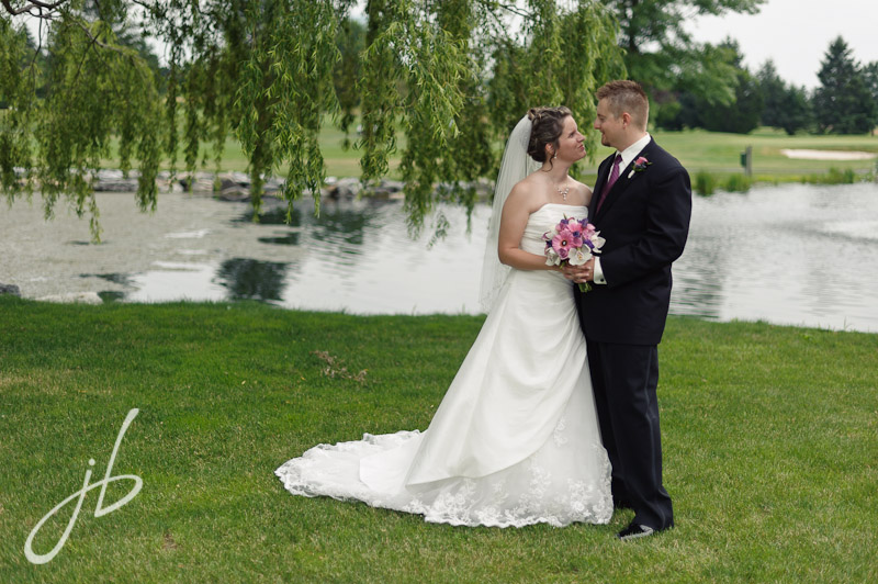 Foxchase Golf Club wedding photography by Jeremy Bischoff Photography