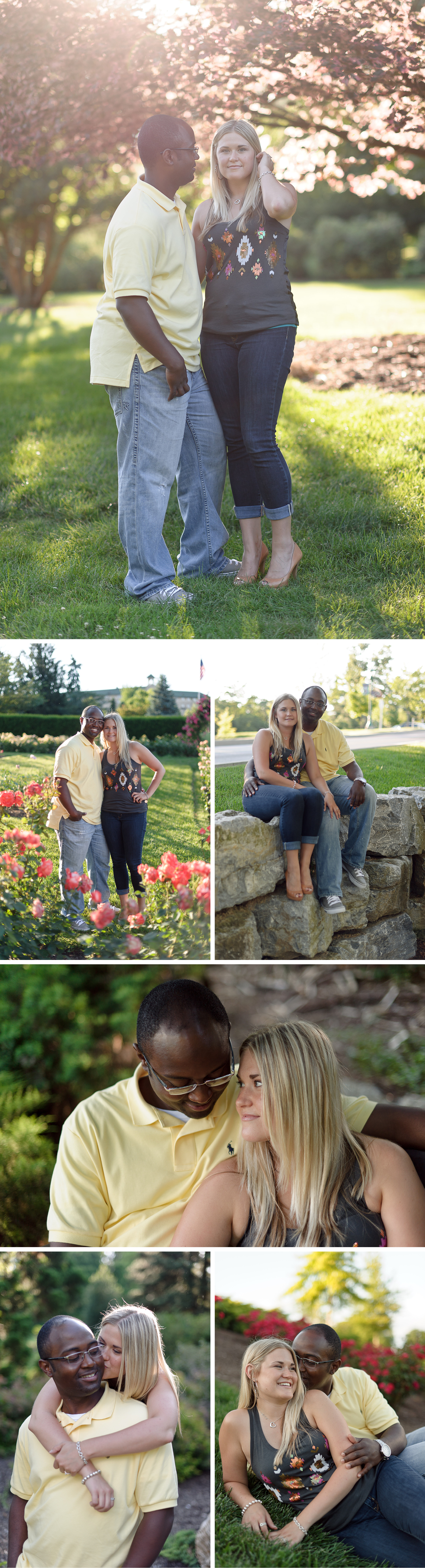 Hershey Gardens Engagement by Jeremy Bischoff Photography